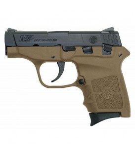 PISTOLA SMITH & WESSON BODYGUARD MARRON 9 CORTO SIN LASER