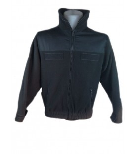 CHAQUETA FORRO POLAR NEGRO SECURITY