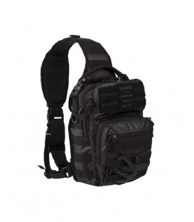 BOLSO BANDOLERA ONE STRAP ASSAULT TACTICAL BLACK, 10 LITROS