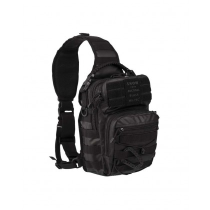 BOLSO BANDOLERA ONE STRAP TACTICAL BLACK