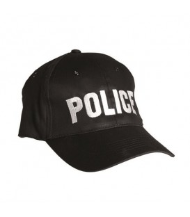 GORRA BORDADA `POLICE´ REGULABLE