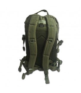 MOCHILA TACTICA US ASSAULT PACK LG 36L LASER CUT VERDE