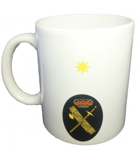 TAZA GUARDIA CIVIL RANGO COMANDANTE (PERSONALIZABLE)