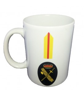 TAZA GUARDIA CIVIL RANGO BRIGADA (PERSONALIZABLE)