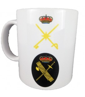 TAZA GUARDIA CIVIL RANGO GENERAL BRIGADA (PERSONALIZABLE)