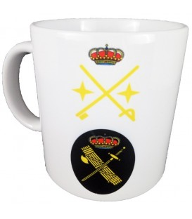 TAZA GUARDIA CIVIL RANGO GENERAL DIVISION (PERSONALIZABLE)