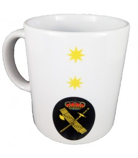 TAZA GUARDIA CIVIL RANGO TENIENTE CORONEL (PERSONALIZABLE)