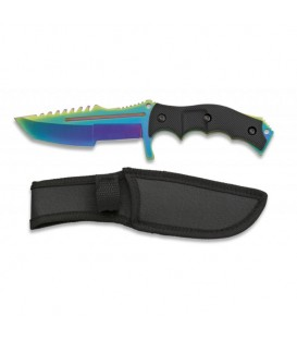 CUCHILLO TACTICO MANGO ABS