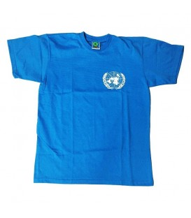 CAMISETA ONU RELIEVE, ALGODON