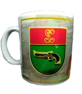 TAZA GUARDIA CIVIL DISTINTIVO TITULO INTERVENCION DE ARMAS