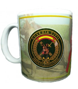TAZA GUARDIA CIVIL GRUPO CINOLOGICO