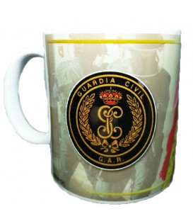 TAZA GUARDIA CIVIL GRUPO G.A.R.