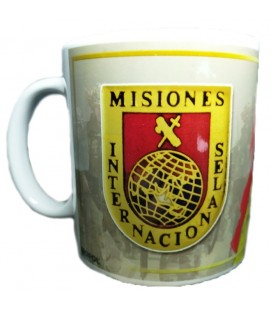 TAZA GUARDIA CIVIL DISTINTIVO MISIONES INTERNACIONALES
