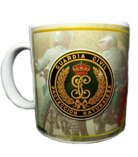 TAZA GUARDIA CIVIL SERVICIO SEPRONA