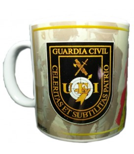 TAZA GUARDIA CIVIL GRUPO U.E.I.