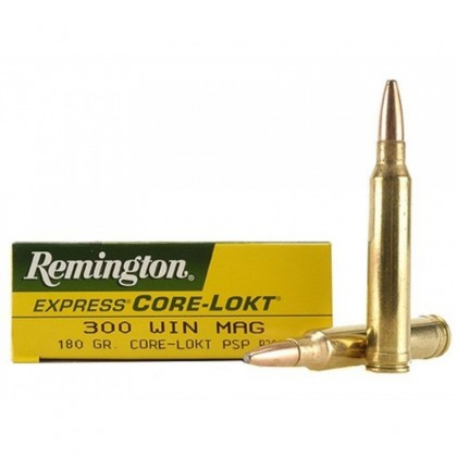 MUNICION CAL. 300 WIN. MAG. CORE LOCK REMINGTON
