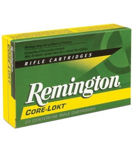 MUNICION CALIBRE 308 WIN. REMINGTON 180 GRAINS