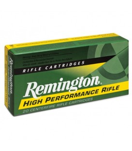 MUNICION CAL. 222 REMINGTON 50 GR.