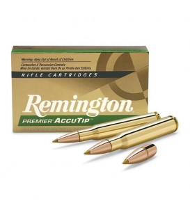 MUNICION CAL. 308 WIN. PREMIER ACCUTIP REMINGTON 165 GR